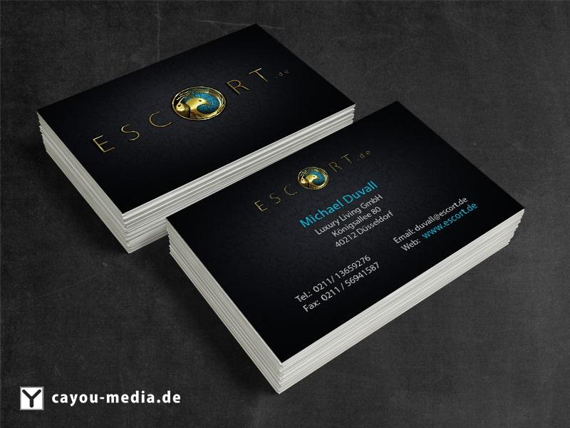 Visitenkarte Escort