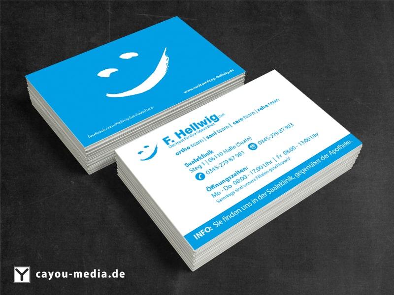 Visitenkarte Hellwig