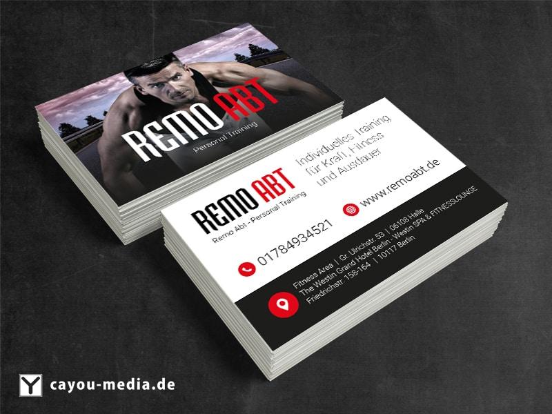 Visitenkarte Remo Abt