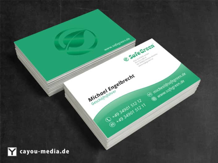 Visitenkarte Safegreen